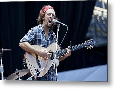 Metal Print featuring the photograph Jason Mraz by Shawn Everhart