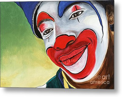 Jason The Clown Metal Print by Patty Vicknair