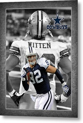 Jason Witten Cowboys Metal Print