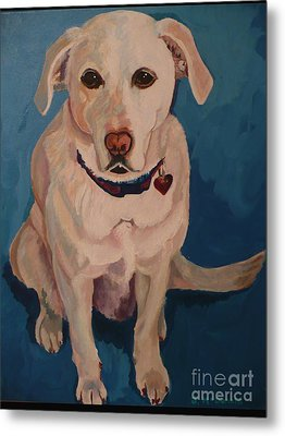Metal Print featuring the painting Jasper by Janet McDonald