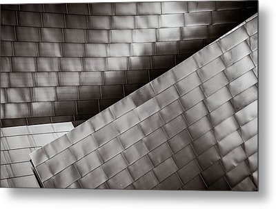 Metal Print featuring the photograph Jay Pritzker Pavilion  by James Howe