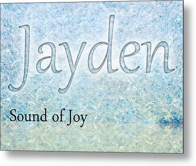 Jayden - Sound Of Joy Metal Print by Christopher Gaston