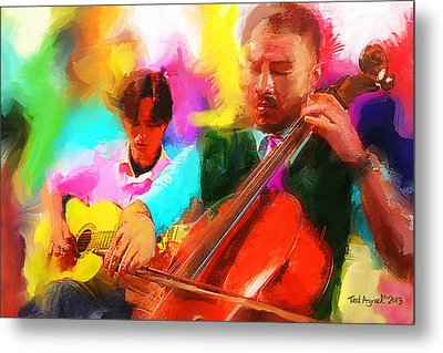 Jazz It Up  Metal Print
