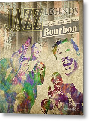 Jazz Legends Metal Print by Timothy Lowry