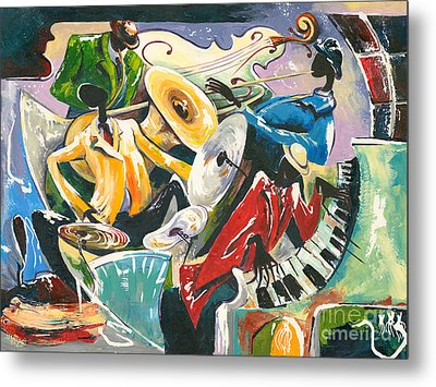 Jazz No. 3 Metal Print