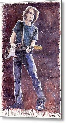 Jazz Rock John Mayer 01 Metal Print