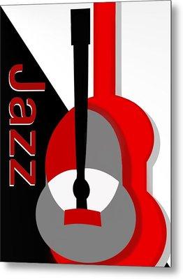Jazz Vibe Metal Print by Christine Fournier