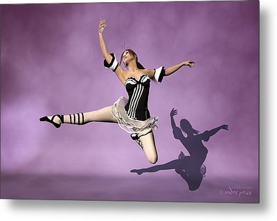 Jazzy Jete Metal Print by Andre Price