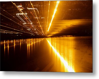 Jazzy Light Metal Print