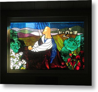 Metal Print featuring the photograph Jc In Prayer by Marie Neder