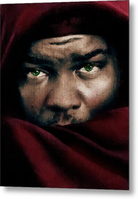 Jealous Othello Metal Print by Georgiana Romanovna