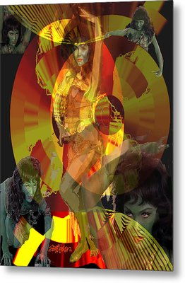 Jealousy Metal Print by Seth Weaver