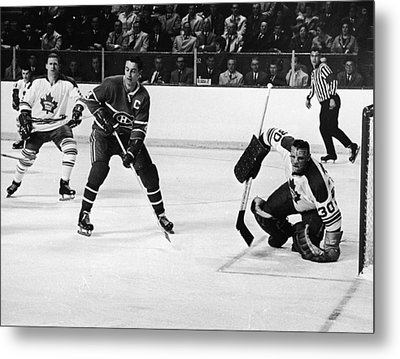 Jean Beliveau Poster Metal Print by Gianfranco Weiss