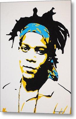 Jean-michel Basquiat Metal Print