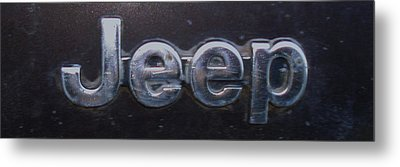 Metal Print featuring the photograph Jeep by J L Zarek