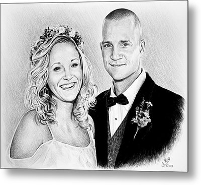 Jeff And Anna Metal Print by Andrew Read