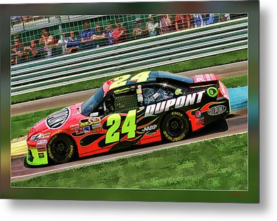 Jeff Gordon Metal Print