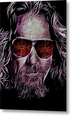 Jeff Lebowski - The Dude Metal Print by Bill Cannon