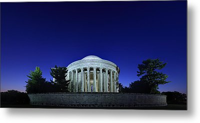 Jefferson In The Morning Metal Print by Metro DC Photography
