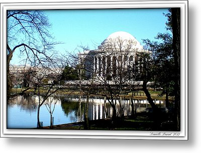 Jefferson Memorial Metal Print by Danielle  Parent