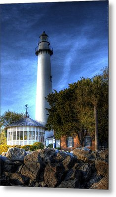 Jekyll Island Lighthouse Metal Print