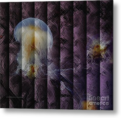 Metal Print featuring the photograph Jellies by Kathie Chicoine
