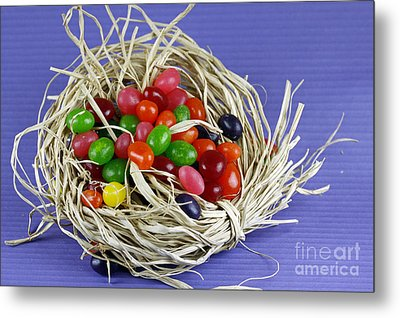 Jelly Beans Metal Print by Denise Pohl