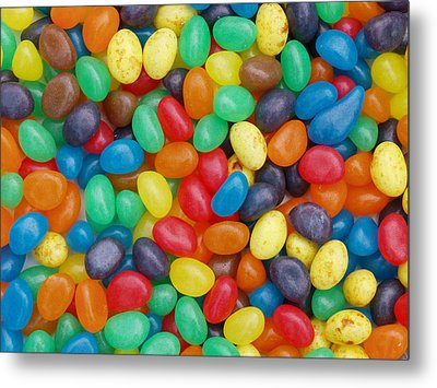 Jelly Beans Metal Print by Ron Harpham