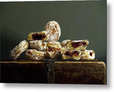 Jelly Donuts Metal Print by Larry Preston