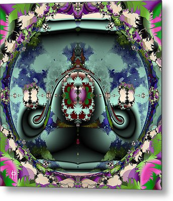 Jellyfish Bowl Metal Print by Jim Pavelle