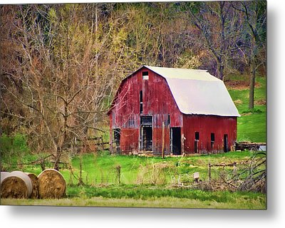 Jemerson Creek Barn Metal Print