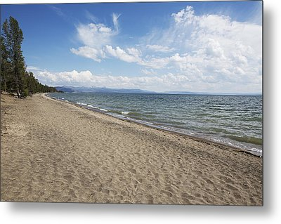 Metal Print featuring the photograph Yellowstone Lake by Belinda Greb