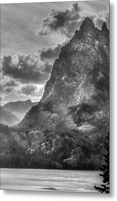 Metal Print featuring the photograph Jenny Lake In Shadow by Jeremy Farnsworth