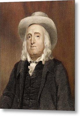 Jeremy Bentham Metal Print