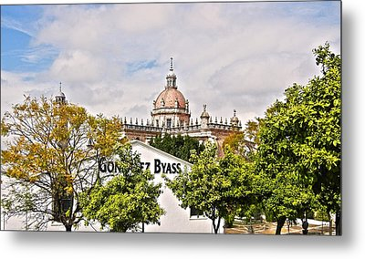 Jerez De La Frontera - Spain Metal Print by Juergen Weiss
