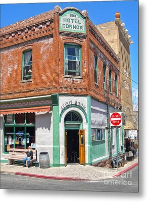 Jerome Arizona - Hotel Conner - 02 Metal Print by Gregory Dyer