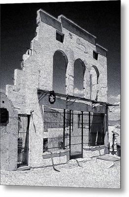 Jerome Arizona - Jailhouse Ruins Metal Print by Gregory Dyer