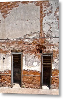 Jerome Arizona - Ruins Metal Print by Gregory Dyer