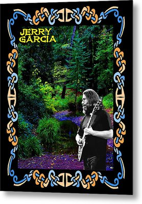 Metal Print featuring the photograph Jerry At Psychedelic Creek by Ben Upham
