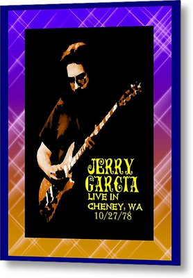 Metal Print featuring the photograph Jerry Cheney 1 by Ben Upham