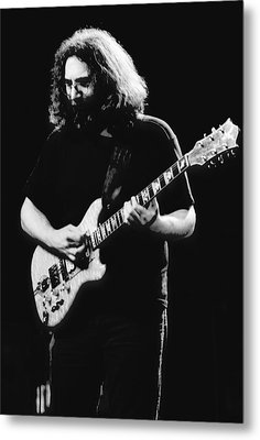 Jerry Garcia In Cheney 1978 Metal Print by Ben Upham