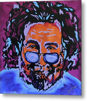 Jerry Garcia-it's A Me Thing Metal Print