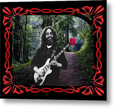 Metal Print featuring the photograph Jerry Road Rose 2 by Ben Upham