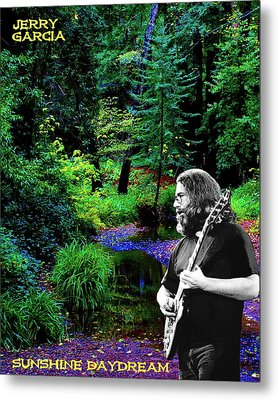 Metal Print featuring the photograph Jerry's Sunshine Daydream by Ben Upham