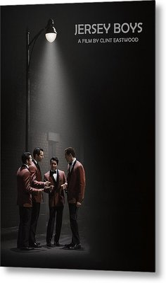 Jersey Boys By Clint Eastwood Metal Print by Movie Poster Prints