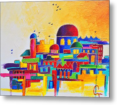 Jerusalem Metal Print by Dawnstarstudios