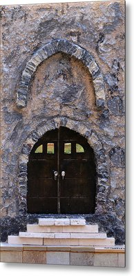 Jerusalem Doorway Metal Print