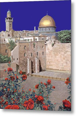 Jerusalem Metal Print by Guido Borelli