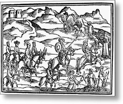 Jerusalem Pilgrims Metal Print by Granger