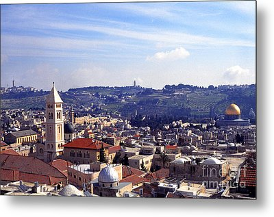 Jerusalem Metal Print by Thomas R Fletcher